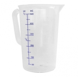 Broc mesureur en polyéthylène