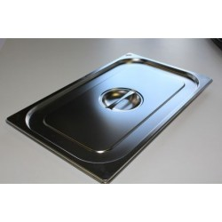 Couvercle bac inox GN 1/1...