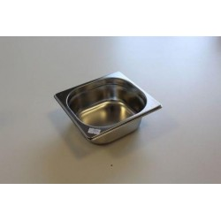Bac inox gastronorme GN 1/6...