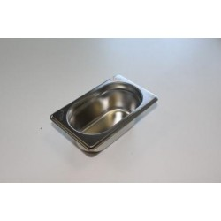 Bac inox gastronorme GN 1/9...
