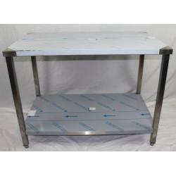 Table centrale inox soudée...