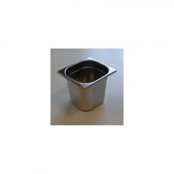 Bacs inox GN 1/6 ( 176 x 162mm)