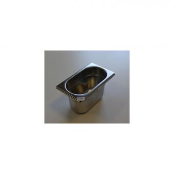 Bacs inox GN 1/9 ( 176 x 108 mm)