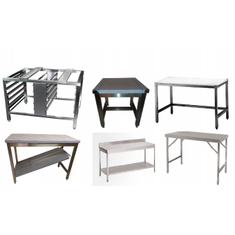 Tables / Supports Inox