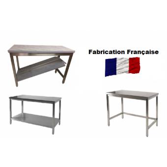 Tables Inox Centrales