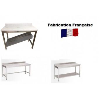 Tables Inox Adossées