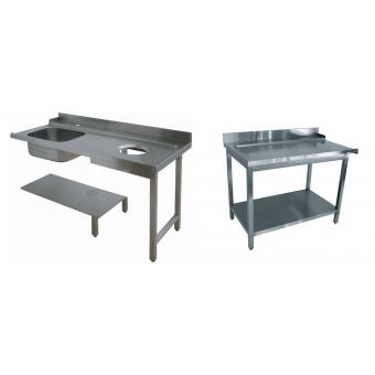 Tables entrée / sortie lave-vaisselle