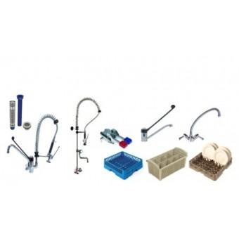 Robineterie / Accessoires plonges / Casiers lavage
